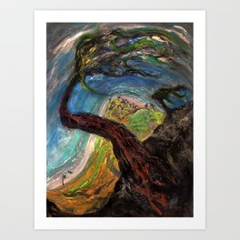 Time Doesn't Grow on Trees (oil on canvas) Art Print