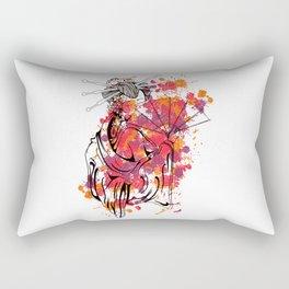 Secrets of the Geisha - Beautiful Chinese Girl Rectangular Pillow