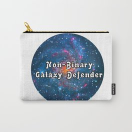 Non binary galaxy design Carry-All Pouch