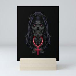 Day of the Dead Prayers - La Calavera Catrina Mini Art Print