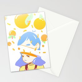 Orange Marmalade  Stationery Cards