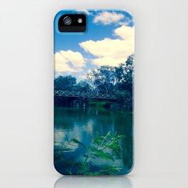 River Bridge iPhone Case