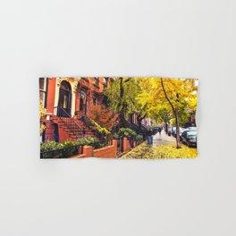 Autumn in Brooklyn Hand & Bath Towel