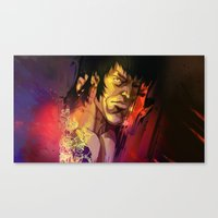 gemma Canvas Prints featuring Gemma by Smirt