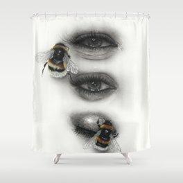 Bee Calm Shower Curtain