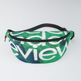 Society under review Fanny Pack