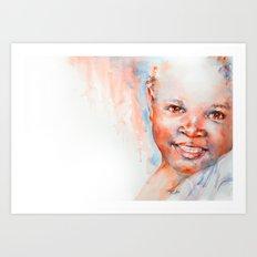 Africa in my Soul Art Print