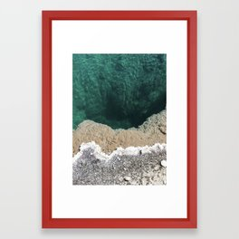 Hot springs 2 Framed Art Print