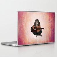 lara croft Laptop & iPad Skins featuring Lara by Ilse Busschers