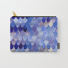 SUMMER MERMAID ROYAL BLUE Carry-All Pouch