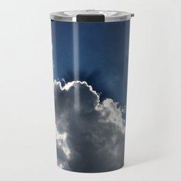 Cloudy Sky Travel Mug