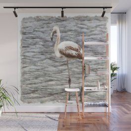 Find Your Footing And Stand Firm Watercolor Wall Mural