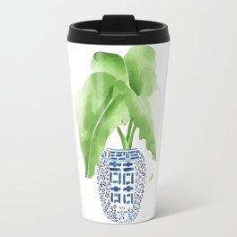 Ginger Jar + Elephant Ears Travel Mug