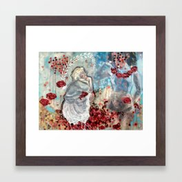 Ghost of My Mother Framed Art Print
