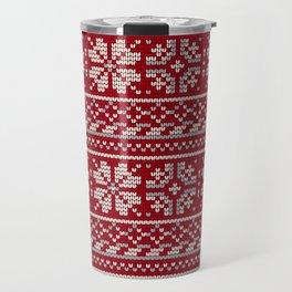 Pattern in Grandma Style #19 Travel Mug