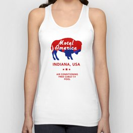 Motel America - American Gods Unisex Tank Top