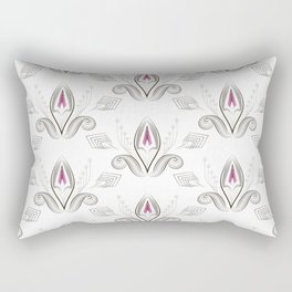 Art Deco 38. Rosebud . Rectangular Pillow