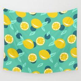 Lemon dots #society6 #decor #buyart Wall Tapestry