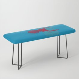 Stitches: Red stag Bench