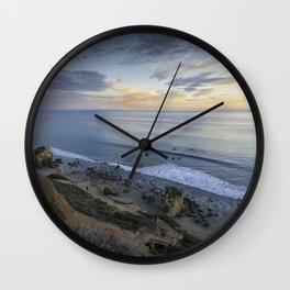 Ocean View from the Beach Wall Clock