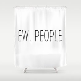 Introvert sarcasm anti social hipster funny gift. Best friend bff gift Shower Curtain
