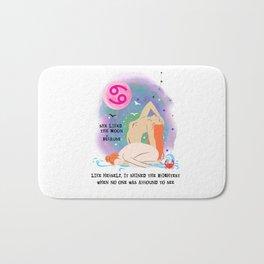 Cancer zodiac Bath Mat