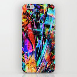 Abstract chaos. iPhone Skin