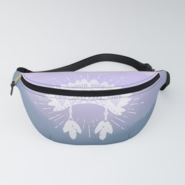 Your Vibe Attracts Your Tribe - Smoky Mountains 2 Fanny Pack