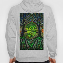 Stained glass Forest Hoody