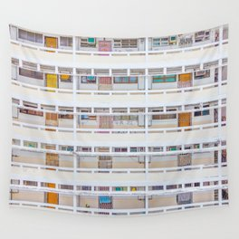 Hong Kong apartment in old district Wall Tapestry