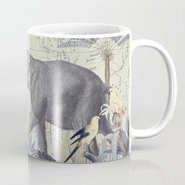 The Journey of the Elephant Coffee Mug