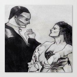 Erik & Christine Canvas Print
