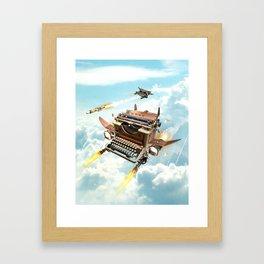 Word War II Framed Art Print