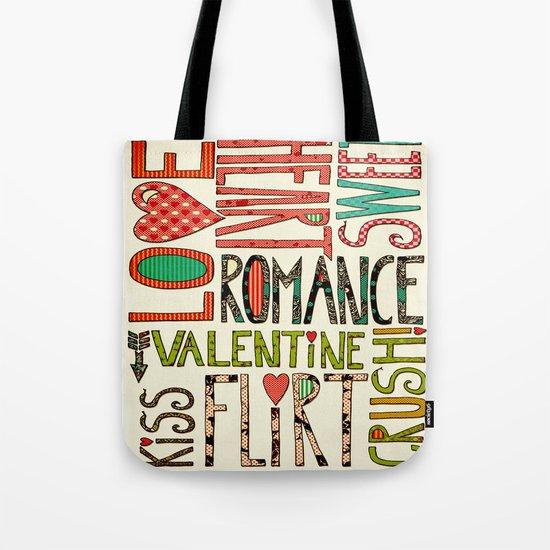 My Romantic Valentine Tote Bag