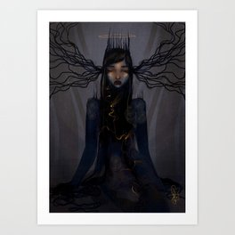 Light within the darkness Art Print