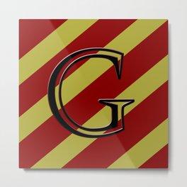 MINIMALISTIC HP HOUSES | GRYFFINDOR Metal Print