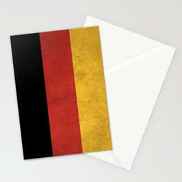 Germany Flag (Vintage / Distressed) Stationery Cards