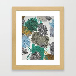 Carbonation Collection: beach Framed Art Print