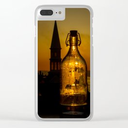Morning thirst Clear iPhone Case