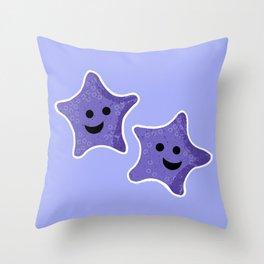 Starfish Friends Throw Pillow