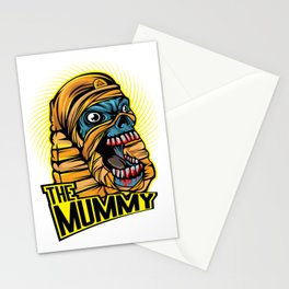 A Unique Detailed Mummy Zombie Tee For Yourself? Here's An Awesome T-shirt Saying The Mummy Design Stationery Cards