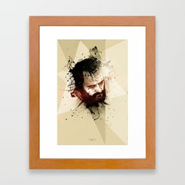 selfportrait#3 Framed Art Print