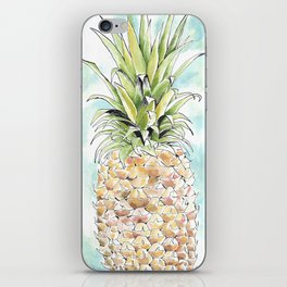 The Colorful Pineapple iPhone Skin