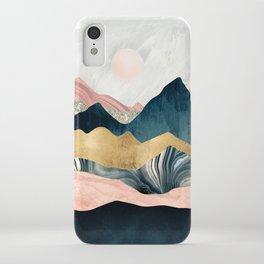 Plush Peaks iPhone Case