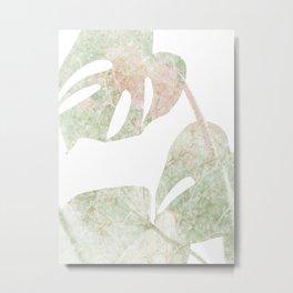 Fresh Palm Botanical Metal Print
