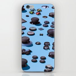 Sticks and Buttons iPhone Skin