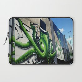 """Green Octopus"" Laptop Sleeve"