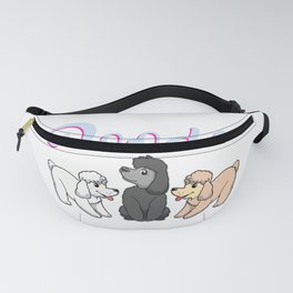 Poodle Gift Poodle Lover Gift Product Fanny Pack