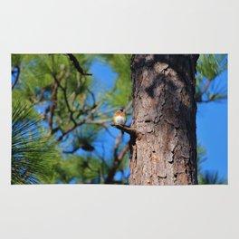 Bluebird On Little Branch Rug