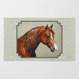 Chestnut Morgan Horse Rug